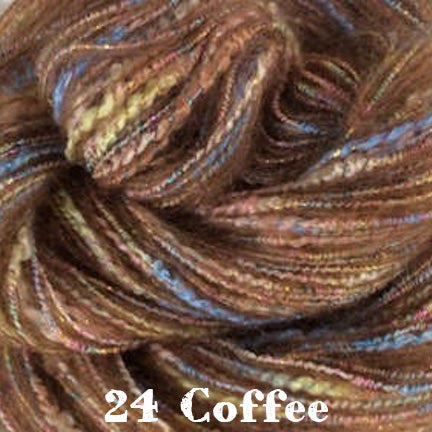 iris mohair 24 coffee
