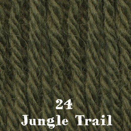 chunky merino SW 24 jungle trail
