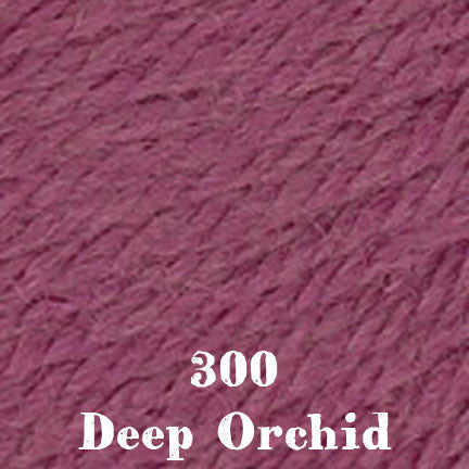 classic wool solids 300 deep orchid