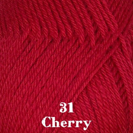 classic wool solids 31 cherry