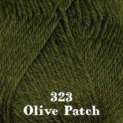 classic wool solids 323 olive patch