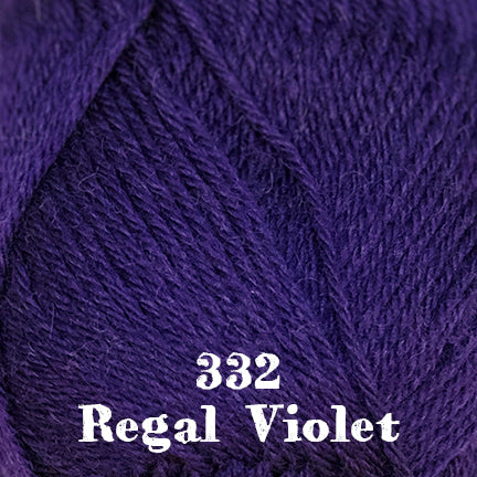classic wool solids 332 regal violet