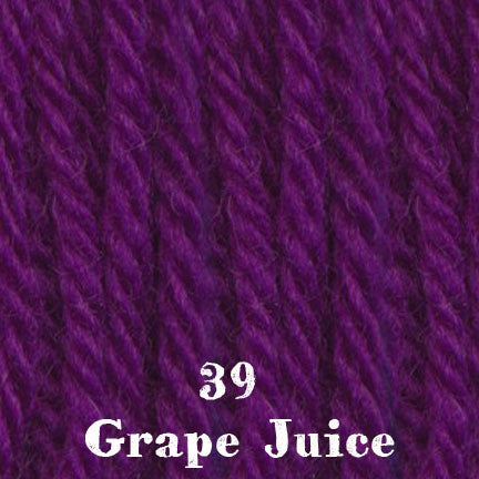 chunky merino SW 39 grape juice