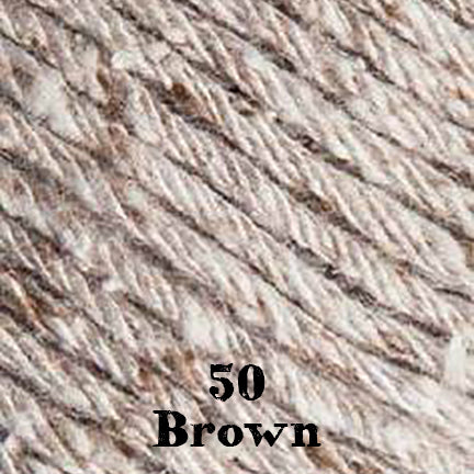 silk viscose 50 brown