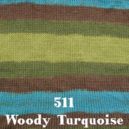 simplicity multi 511 woody turquoise