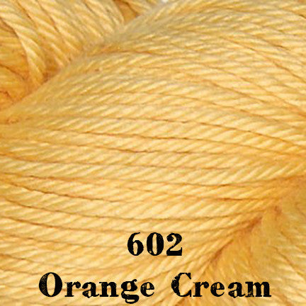 cotton supreme 602 orange cream