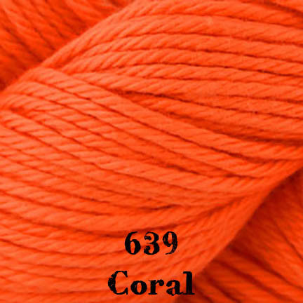 cotton supreme 639 coral