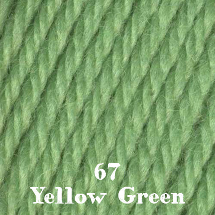 classic wool solids 67 yellow green