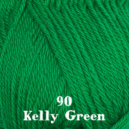 classic wool solids 90 kelly green