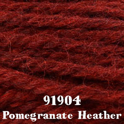 deluxe chunky 91904 pomegranate heather