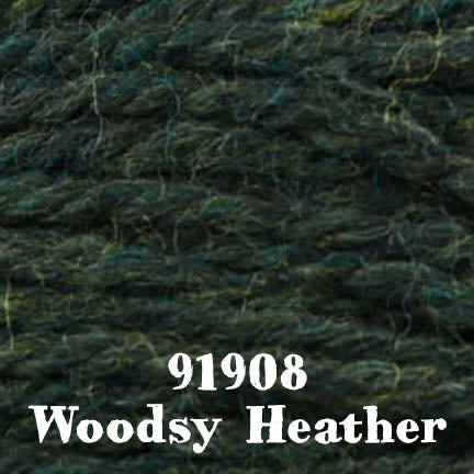 deluxe chunky 91908 woodsy heather