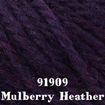 deluxe chunky 91909 mulberry heather