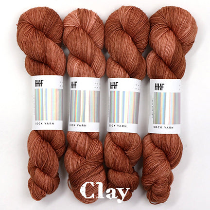 twist sock clay