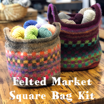 Felted Market Square Kit