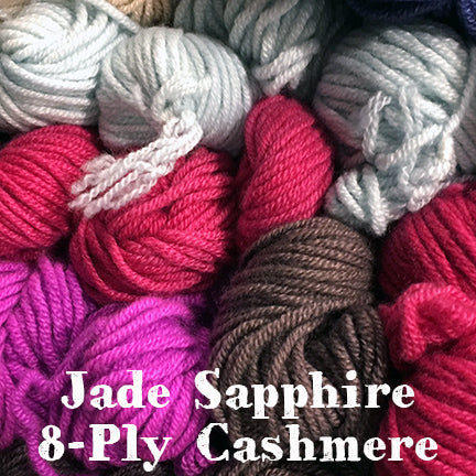 Jade Sapphire 8ply Cashmere