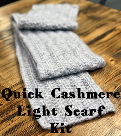 Quick Cashmere Light Scarf Kit main