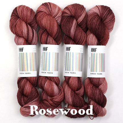 twist sock rosewood