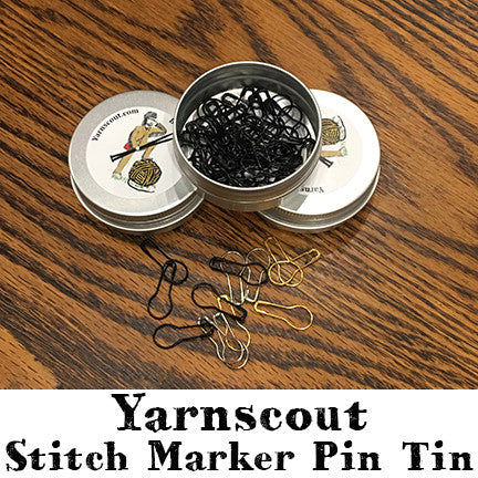 Stitch Marker Pin Tin