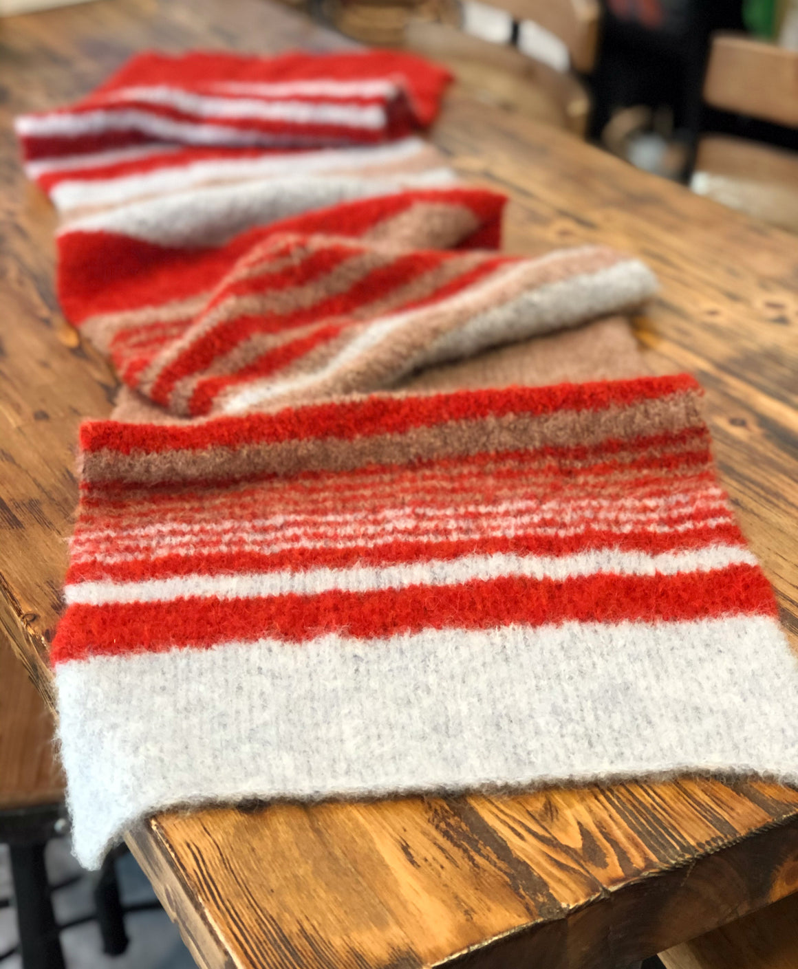 Stripe It Simple Scarf Pattern