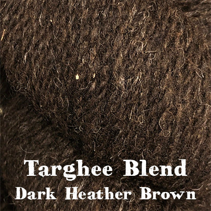 targheeblend, dark heather brown