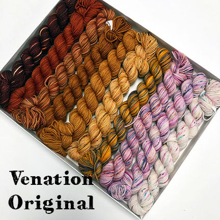 Koigu Venation Pencil Box Kits