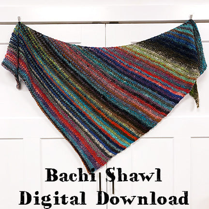 Bachi Ball Shawl Pattern
