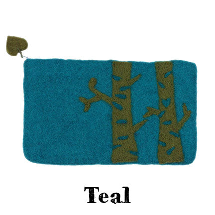 birch bag teal