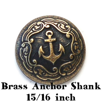Brass anchor shank 23mm