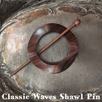 jul classic waves shawl pin