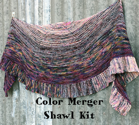 Color Merger Shawl Kit