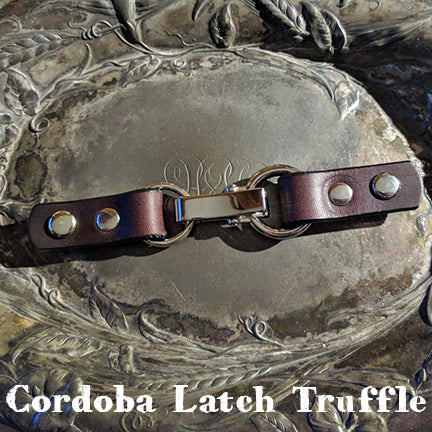 Jul Designs cordoba latch closure truffle