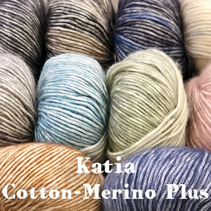 Katia cotton merino plus main
