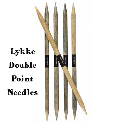 Lykke Double Point Knitting Needles 6""