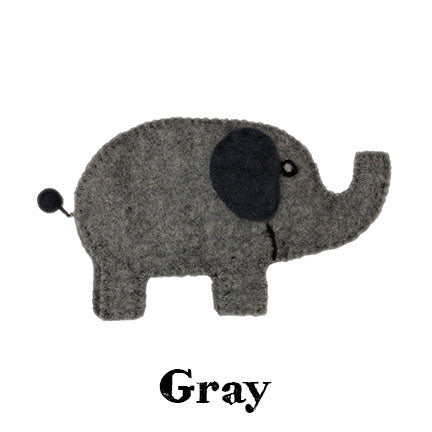 elephant bag gray