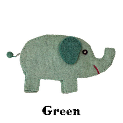 elephant bag green