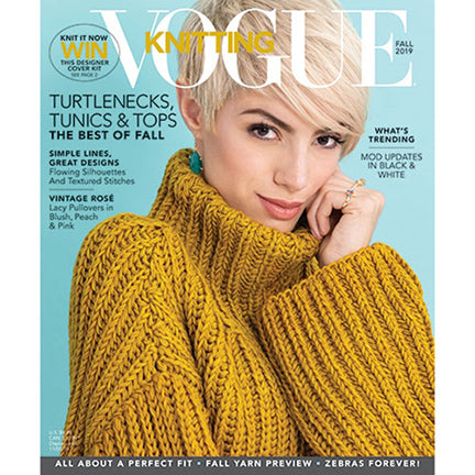 Vogue Knitting magazine fall 2019