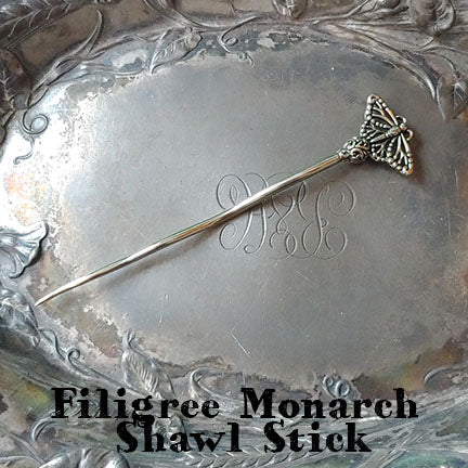 jul designs filigree monarch shawl stick
