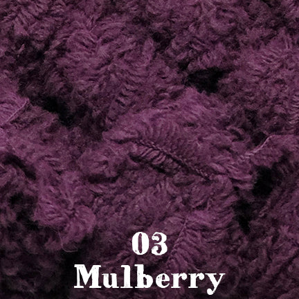 fur wool 003 mulberry