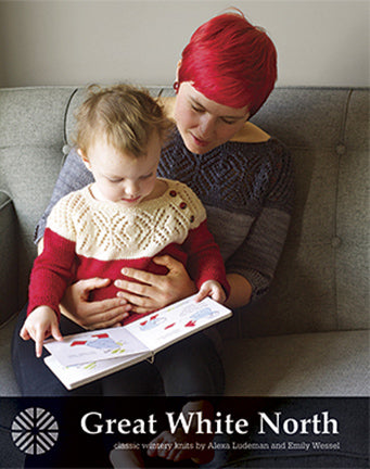 Great White North by Alexa Ludeman and Emily Wessel, from TinCanKnits