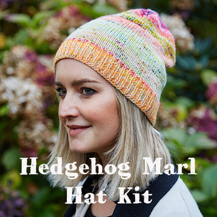 Hedgehog Marled Hat Kit