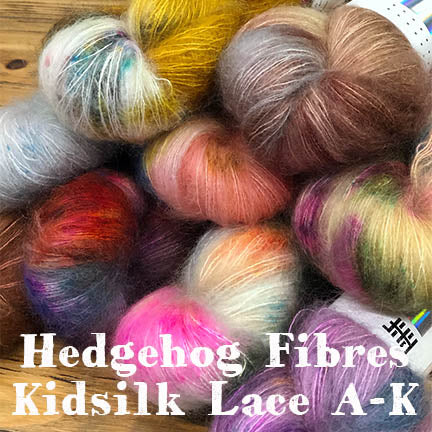 Hedgehog Kidsilk Lace A-K