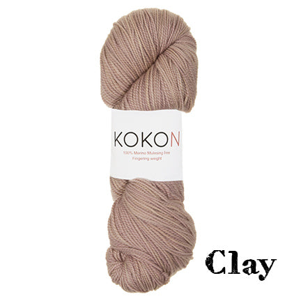 kokon fingering clay