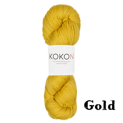 kokon fingering gold