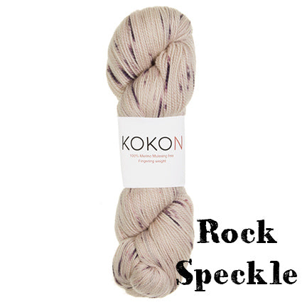 kokon fingering rock speckle