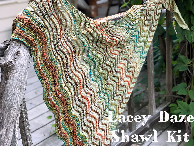 Lacey Daze Shawl Kit