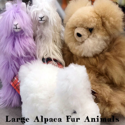 Large Alpaca Fur Animal
