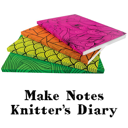 Make Notes Knitter's Diary