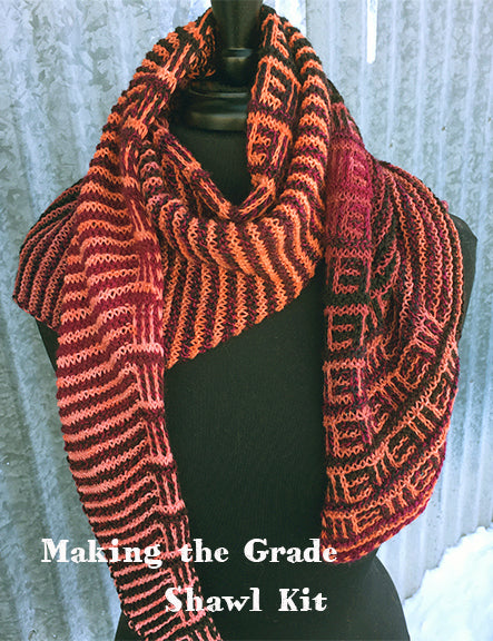 Making the Grade Shawl Kit