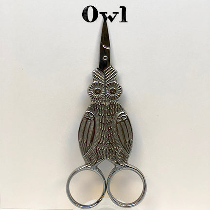 kelmscott designs scissors owl