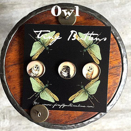 firefly notes buttons owl